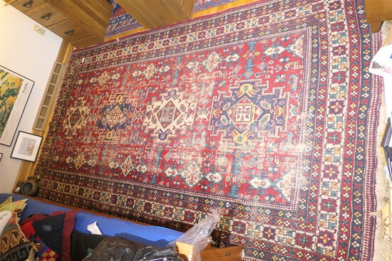 Nice Large Sized Antique Persian rug or carpet - Hand Knotted
