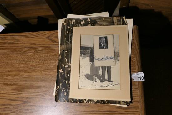 Archive of Vice President Alben Barkley Inc. ID Badge