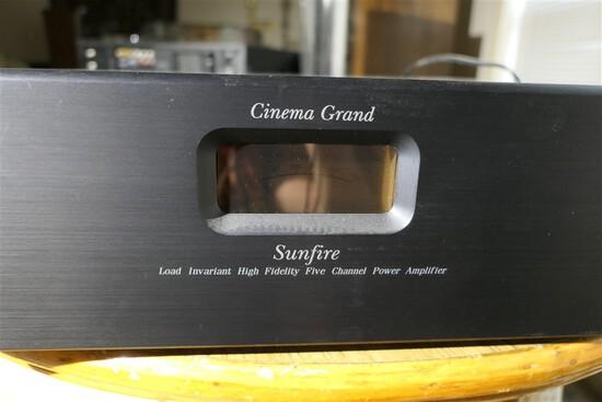 Cinema Grand Sunfire power amplifier