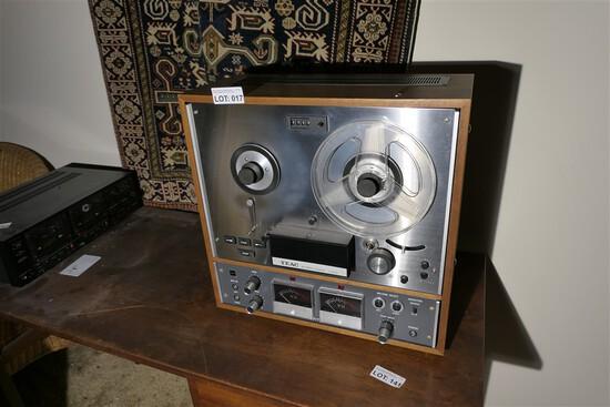 Vintage TEAC Reel to Reel Tape Recorder