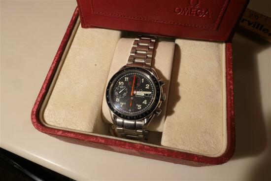 Omega Speedmaster Chronograph Watch in Box