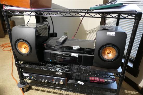 Pair of High End KEF LS-50 Uni-Q Driver Speakers