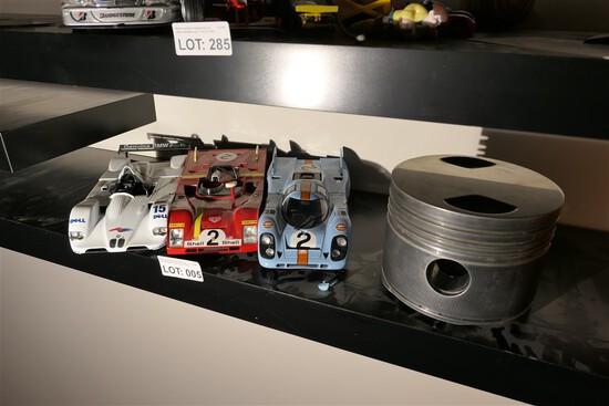 Three nice car models + Racing Piston Head