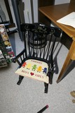 Child Size Antique Style Rocking Chair