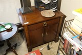 Antique nightstand with drawers by Baker Furniture