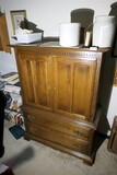 Vintage Bedroom Dresser or Armoire by Ethan Allen