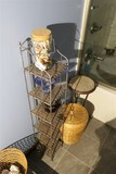 Storage rack, stand, baskets etc.