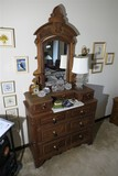 Antique Victorian Dresser with mirror