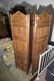 Southeast Asian Carved Wooden Screen