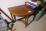 Antique Demilune Table