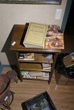 Music stand and contents lot