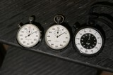 Lot of three stopwatches inc. Heuer