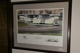 Vintage Jaguar Racing Group 44 Inc. Poster - Signed
