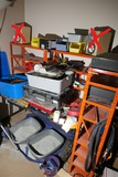 Workbench and contents - Electrical Repair equipment