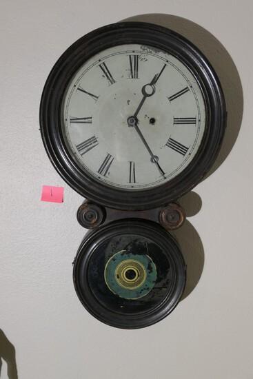 Original 1858 Ingraham Ionic Clock