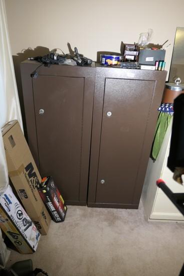 2 steel gun safes