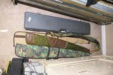 Rifle case and sleeves lot