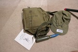 Misc Military Items Lot Inc. Gas Mask