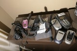 Group lot of misc Vintage Cell Phones