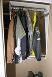 Group lot of jackets including racing