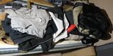 Group lot assorted clothes, coveralls