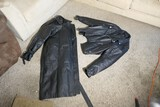 Pair of Motorcycle Leather Jacket