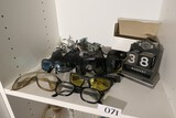 Motorcycle sunglasses, calendar, specs and more lot