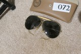 Pair vintage Ray Ban Sunglasses in Case
