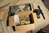 Group Lot Assorted Loose Ammo, Accessories, Scope