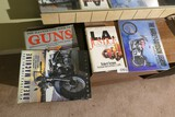 Group lot of four books - Guns, motorcycles