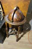 Nice globe form bar cabinet