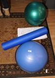 Window fan, exercise items lot