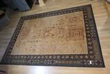Larger sized decorative rug