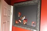 Framed display board