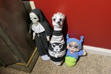 Macabre bowling pin doll, 2 other creatures