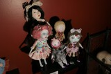 Group lot of creep macabre dolls