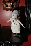 Unusual creepy woman doll  - artist made