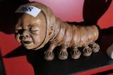 Unusual heavy ceramic infant caterpillar mix