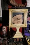 Strange faux face skin in display
