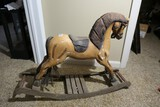 Vintage Small Sized Child's Rocking Horse