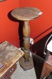 Antique Wooden Pedestal Stand