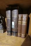2 Pairs of Antique Books - Includes scientific