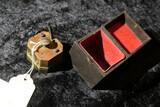 Large sized antique English octagonal scarificator in box