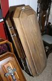 Antique Authentic Child's Coffin or Casket