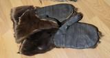 Pair of Native American Alaskan Gloves