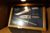 Gil Hibben Knife Set in Case