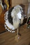 Native American Headdress War Bonnet by Buffy Sam, Navajo