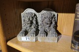 Pair of Decorative Modern Lion Bookends