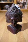 Unusual Native or Tribal Carved Wooden Statue or Figure