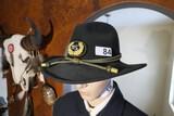 Civil War reenactor Medical Officer Surgeon Hat